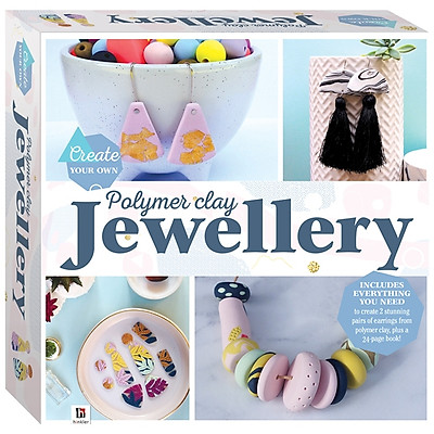 Create Your Own Polymer Clay Jewellery Box Set