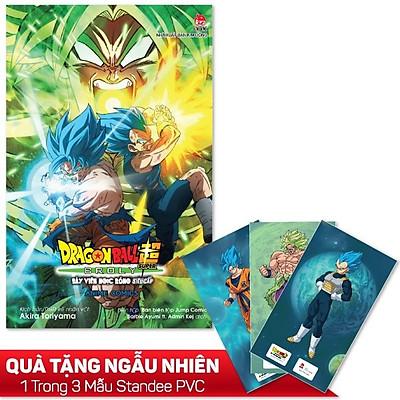 Anime Comics: Dragon Ball Super Broly - Người Saiya Cuồng Nộ - Tặng Kèm Ngẫu Nhiên 1 Trong 3 Mẫu Standee PVC