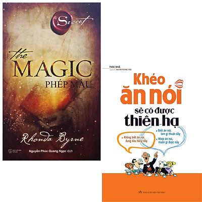 Combo sách Phép màu the magic + khéo ăn nói sẽ được thiên hạ