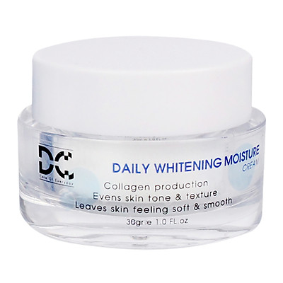 Daily Whitening Moisture Cream DC - Kem Dưỡng Trắng Da Ngày Và Đêm 30gr