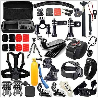 49-in-1 Accessories Kit for GoPro Hero5 Black Hero5 Session Hero 4 Hero Session Accessory Bundle Set for GoPro Hero3+ 3
