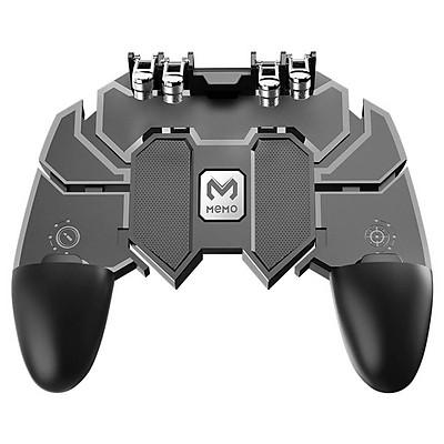 Tay cầm điện thoại thông minh MEMO AK66 chơi game PUBG ROS Freefire mobile hỗ trợ 4 ngón tay