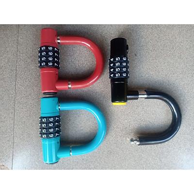 Ổ khóa số U chống trộm 9*9*1cm