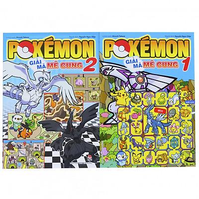 Sách Pokemon - Bộ 2 cuốn - Giải mã mê cung