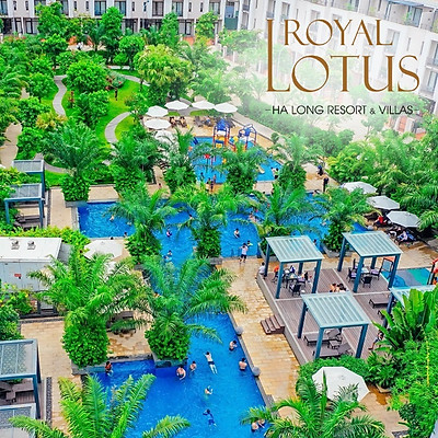 Royal Lotus Resort 4* Hạ Long - Gói 02 Bữa Ăn, Hồ Bơi Ngoài Trời, Hồ Bơi Trong Nhà, Bãi Biển Riêng, Không Gian Xanh