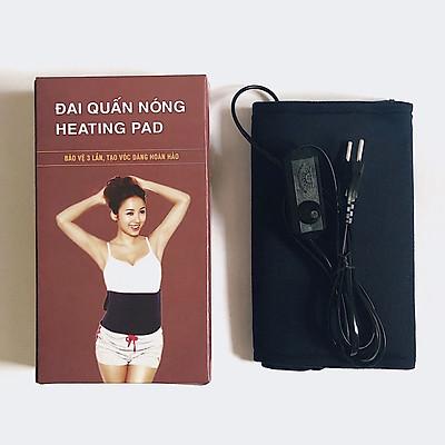 Đai quấn nóng hỗ trợ giảm mỡ bụng