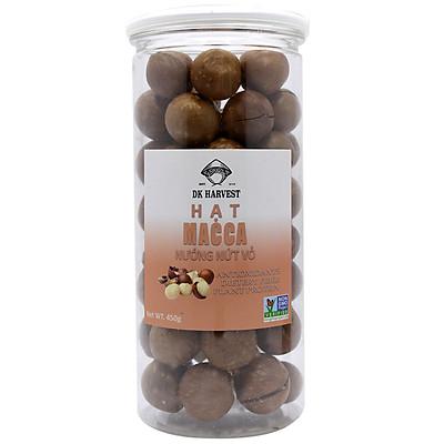 Hạt Macca nướng nứt vỏ DK HARVEST nhập khẩu Australia ( Có đồ tách vỏ)