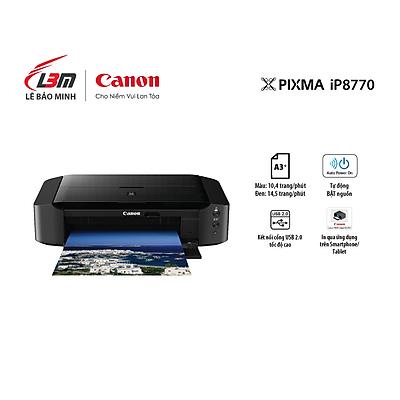 Máy in phun màu đơn năng Canon IP8770- Hàng chính hãng