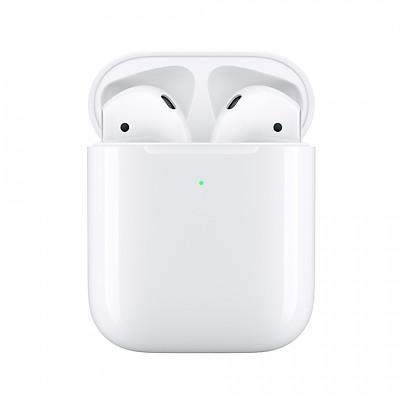 Tai Nghe Bluetooth Apple AirPods 2 True Wireless - MRXJ2 (Hộp Hỗ Trợ Sạc Không Dây) - Hàng Nhập Khẩu