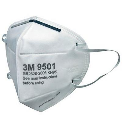 Bộ 4 Khẩu Trang Cao Cấp 3M Nexcare 9501 Chống Bụi Siêu Mịn PM2.5 KN95