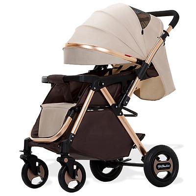 Xe Đẩy em bé 2 Chiều Gấp Gọn,Thiết Kế Châu Âu, Năng Động, Hợp Kim, Trọng tải 80kg