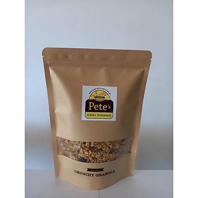 Ngũ cốc sấy khô, hạt dinh dưỡng, giòn Granola 325g Pete's Luxury Wholefoods