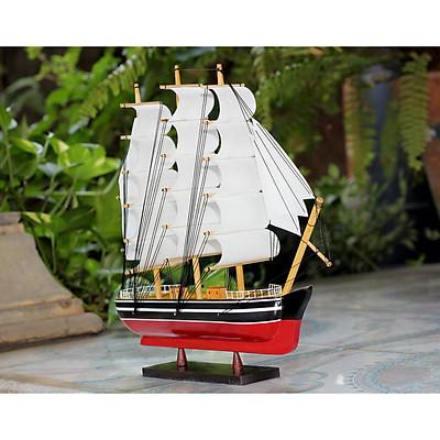 Mô hình tàu thuyền gỗ Belem thân tàu 30cm - trang trí nhà cửa - phòng khách - bàn làm việc, quà tặng tân gia - sinh nhật - khai trương