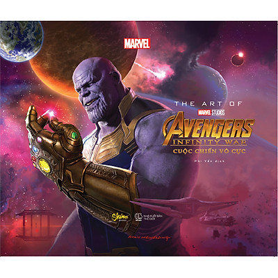 The Art Of Marvel Studios Avengers Infinity War (Cuộc Chiến Vô Cực)