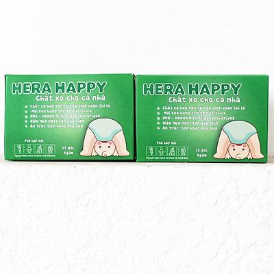Combo 2 hộp Chất xơ hòa tan Hera Happy [CHÍNH HÃNG] - Chuyên hỗ trợ cho người bị táo bón