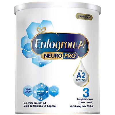 Sữa bột Enfagrow A2 Neuropro 3 cho trẻ từ 1 - 6 tuổi – 350g