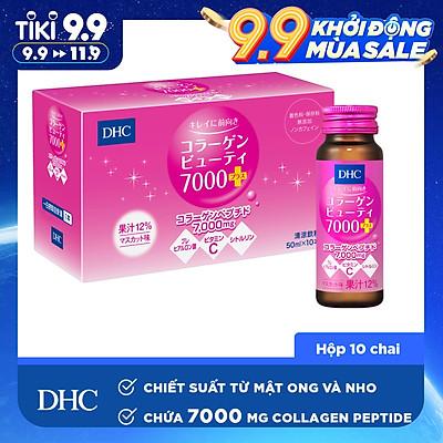 Thực Phẩm Chức Năng Collagen Nước DHC Collagen Beauty 7000 Plus (10chai x 50ml)