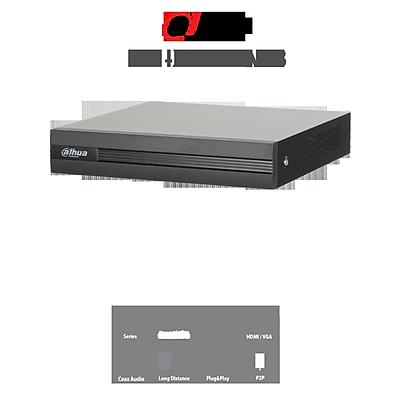 Đầu ghi hình 8 kênh HD-CVI hỗ trợ Camera 1.0MP/2.0MP Dahua XVR1A08 - Hàng nhập khẩu