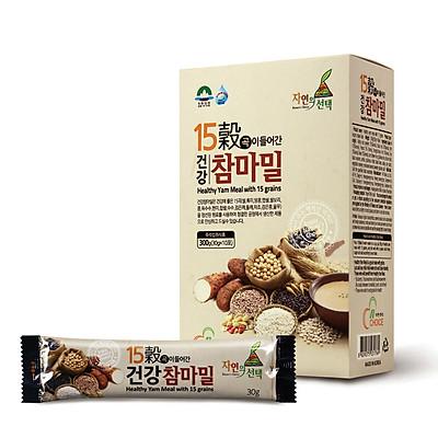 Bột ngũ cốc Hàn Quốc N-Choice 15 loại hạt 300g - hộp 10 gói x 30g / gói