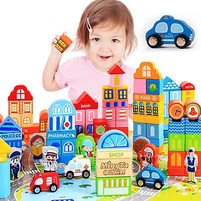 Đồ Chơi Mô Hình Cho Trẻ Em Bằng Gỗ MING TA