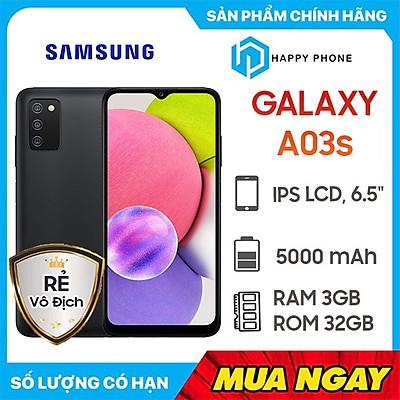 Điện Thoại Samsung Galaxy A03s (3GB/32GB) - Hàng Chính Hãng - Đã kích hoạt bảo hành điện tử