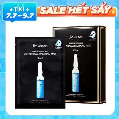 [ 10 miếng ] Mặt nạ siêu cấp ẩm JMsolution S.O.S Ampoule Hyaluronic Mask 30ml