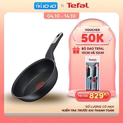 Chảo chiên Tefal Unlimited G2550302 22cm - Công nghệ chống dính, báo nhiệt thông minh - Tương thích với mọi loại bếp - Hàng chính hãng