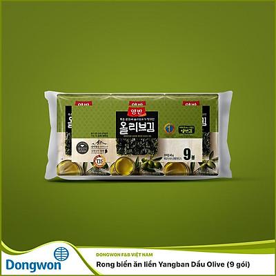 Rong biển ăn liền Yangban Dầu Olive