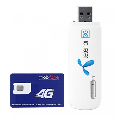 USB 3G Phát Wifi Huawei E8231 + Tặng Kèm Sim Mobifone 2GB / Ngày - Hàng Chính Hãng
