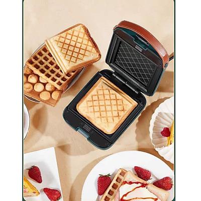 Máy nướng bánh mì đa năng 3 khuôn  làm bánh waffle, bánh sanwich và làm bánh tổ ong