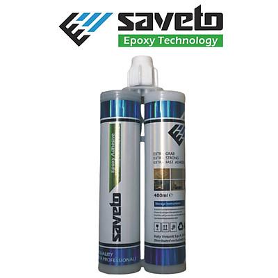 Keo chít mạch Saveto Epoxy hai thành phần - 18 màu - Hàng chính hãng