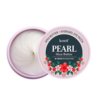 Mặt nạ mắt koelf PEARL Shea Butter Hydrogel - Hủ 60 miếng