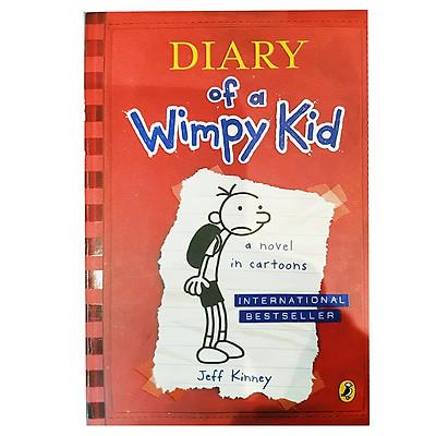 Truyện thiếu nhi tiếng Anh - Diary Of A Wimpy Kid 01: A Novel In Cartoons
