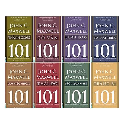 Combo 101 Những Điều Nhà Lãnh Đạo Cần Biết (Trọn Bộ 8 Cuốn)
