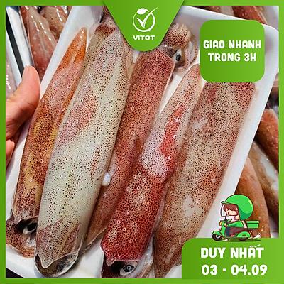 [CHỈ GIAO HN và HCM] - VITOT FOOD MỰC TRỨNG PHAN THIẾT (500g/ khay)