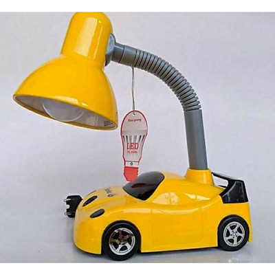 Đèn bàn học điện quang hình xe