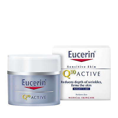 Kem Chống Lão Hóa Ban Đêm Eucerin Q10 ACTIVE Night Cream (50 ml)