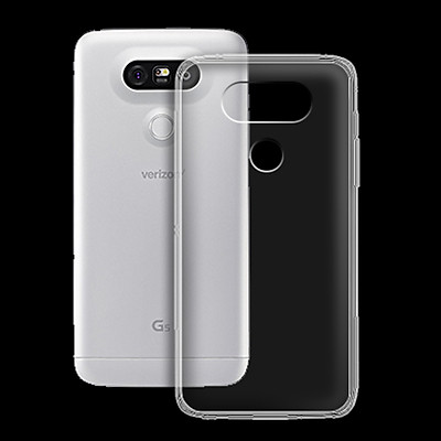 Ốp lưng cho LG G5 - 01163 - Ốp dẻo trong - Hàng Chính Hãng