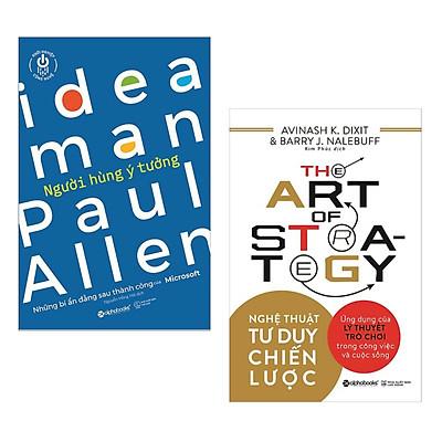 Combo Sách Kinh Doanh Hay : Ideal Man Người Hùng Ý Tưởng + The Art Of Strategy - Nghệ Thuật Tư Duy Chiến Lược - Tặng Kèm Postcard HAPPY LIFE