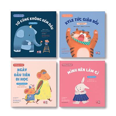 Picture Book - Những câu chuyện ở trường của bé 4 cuốn - TN0011.002
