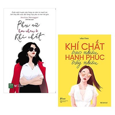 Combo 2 Cuốn Sách Kỹ Năng Cực Hay Cho Các Cô Nàng: Khí Chất Bao Nhiêu, Hạnh Phúc Bấy Nhiêu + Phụ Nữ Hơn Nhau Ở Khí Chất / Tặng Kèm Bookmark Happy Life