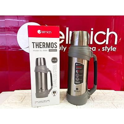 Bình giữ nhiệt inox 304 Elmich EL-3688 thể tích 2500ml