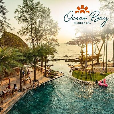 Trọn Gói 3N2Đ Ocean Bay Resort & Spa 5* Phú Quốc Dành Cho 02 Người - 06 Bữa Ăn, Hồ Bơi Vô Cực Siêu Đẹp, Bãi Biển Riêng, Xe Đón Tiễn Sân Bay