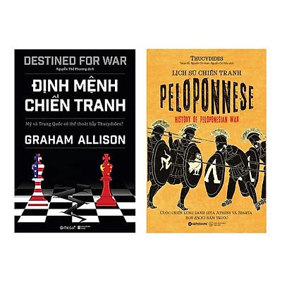 Combo Sách: Định Mệnh Chiến Tranh + Lịch Sử Chiến Tranh
