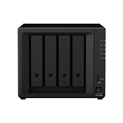 Thiết bị lưu trữ qua mạng NAS Synology DS420+ - Hàng chính hãng