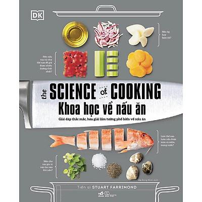Sách - Khoa học về nấu ăn - The science of cooking (Bìa cứng)