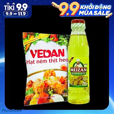 Hạt nêm thịt heo Vedan 1kg ( Tặng kèm dầu ăn thực vật cao cấp MEIZAN )