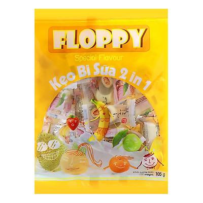Kẹo bi sữa Floppy vị trái cây 105g