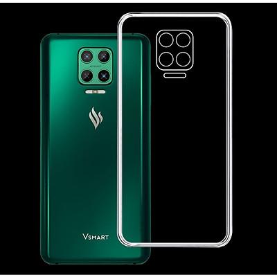 Ốp lưng cho điện thoại VSMART ARIS - 01320 - Ốp dẻo trong suốt, ôm khít, bảo vệ điện thoại - Hàng Chính Hãng