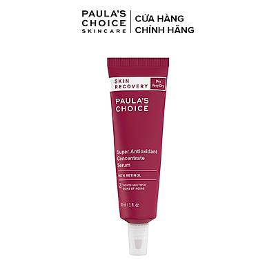 Tinh chất phục hồi da tổn thương Paula's Choice Skin Recovery Super Antioxidant Concentrate Serum Retinol 30ml 3250